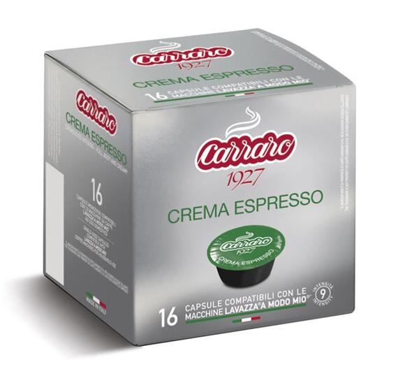 Crema Espresso Lavazza Modo Mio* 75% Arabica 16 капсули