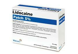 Sell Lidocaine Patches 30 Ct 00182
