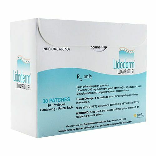 Sell Lidocaine Patches 30 Ct