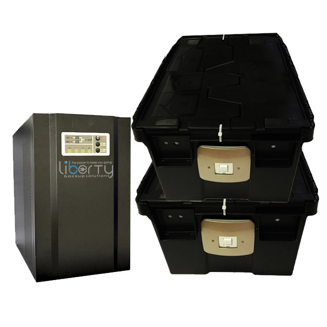 SH Series 5000VA 48v Pure sine wave +4batteries & 2 battery cabinets