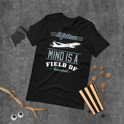 A fallow mind is a field of discontent Short-Sleeve Unisex T-Shirt