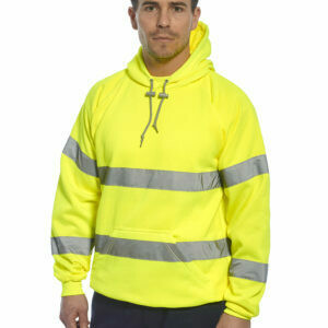 Clothing - Sweatshirt - Hi-Vis Hooded Sweatshirt (PORTWEST)