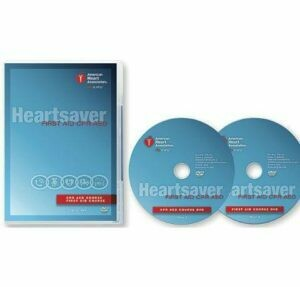 2015 Heartsaver® First Aid CPR AED DVD Set 15-1019 AHA