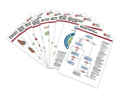 Advanced Cardiovascular Life Support (ACLS) Poster Set 15-1042