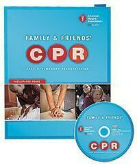 2015 Family & Friends® CPR DVD With Facilitator Guide 15-1017