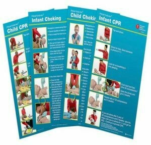 Poster Pack Heartsaver® Child And Infant Posters (15-1029) AHA