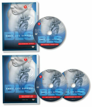 Basic Life Support (BLS) DVD Set with Renewal Course DVD 15-1079