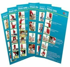 Poster Pack® HeartSaver Posters 15-1030