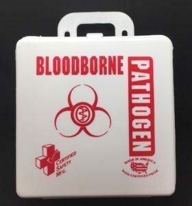 BloodBorne Pathogen Kit - 6PW - Poly White Certified 200-085
