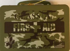 Class A Camo First Aid Kit 616-063