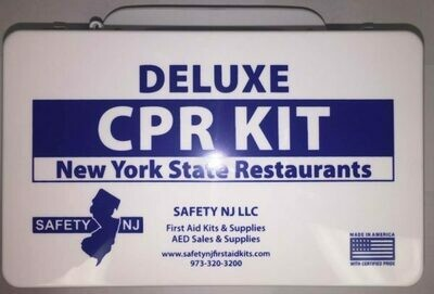 CPR KIT DELUXE with Sign - New York State Restaurants
