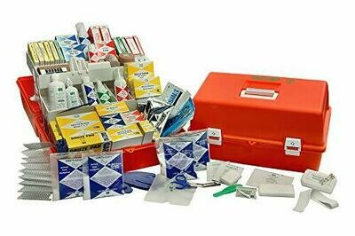 Emergency Trauma Care Kit Deluxe - Orange Co-Polymer Case