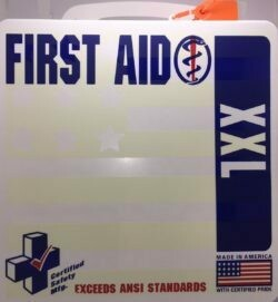 First Aid Kit - 24PW - ANSI XXL Deluxe First Aid Kit - 50 Person 605-143