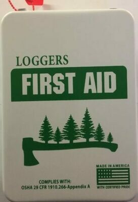 Loggers 16M Metal First Aid Kit