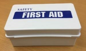 Plastic First Aid Box - Empty 8