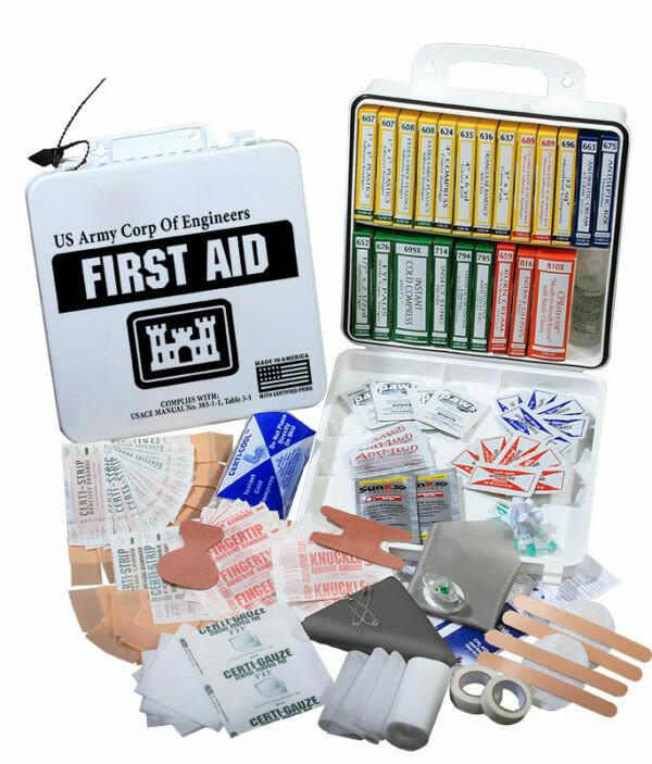 U.S. Army Corps of Engineers 24 First Aid Kit