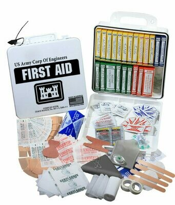 U.S. Army Corps of Engineers 24 First Aid Kit