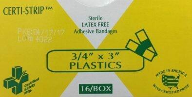 Adhesive Bandages - Plastic - 3/4