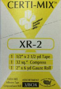 Bandage Assortment -Tape/Compress/Roll Assortment - XR-2 Certi-Mix - Certified (211-050) 3/box