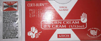 Certi-Burn Burn Cream # 659 6/Box