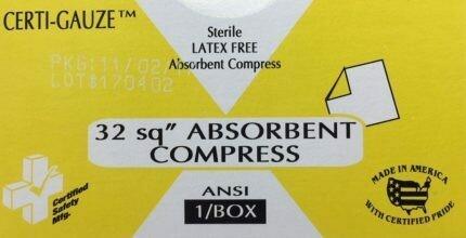 Compress Bandage - Absorbent - 32