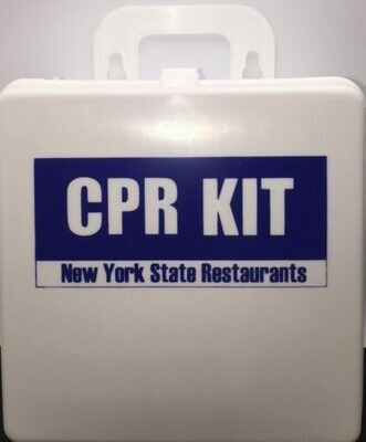 CPR Kit - State of New York Restaurants with Sign - Certified 607-018