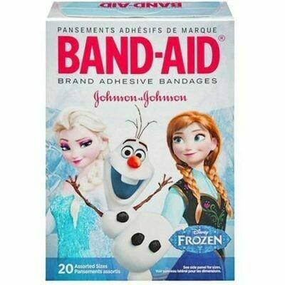 Disney's Frozen Band-Aid Adhesive Bandages 20/Box