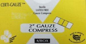 Gauze Bandage Compress - 2