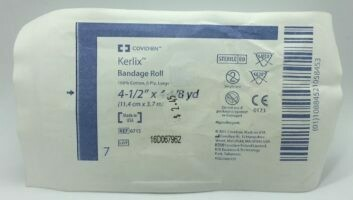 Gauze Bandage Roll - Sterile - 4 1/2