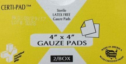 Gauze Pad - 4