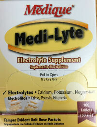Medi-Lyte 250/2's  Electrolytes Replacement 03013