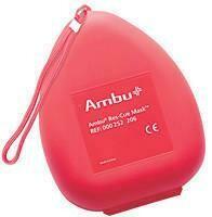 Pocket Mask- Ambu® Res-Cue Mask Basic in Hard Red Case 252103
