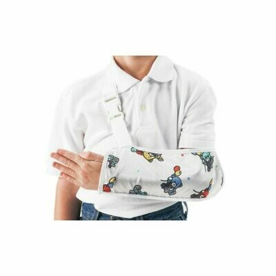 ProCare Pediatric Bear Print Arm Sling DJO79-99133 Ped 6 1/2