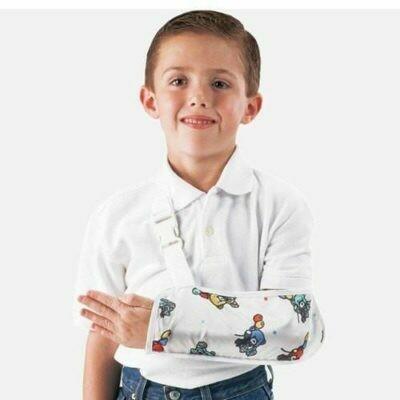 ProCare Pediatric Bear Print Arm Sling DJO79-99132 x-small 4 1/2