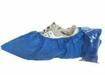 Shoe Covers - Plastic - Pair - Certified 216-086
