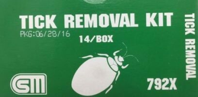 Tick Removal Kit - Certified 216-000