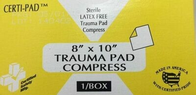 Trauma Pad Compress - 8