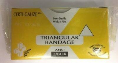 Triangular Bandage 3/Box 211-031  # 636CG