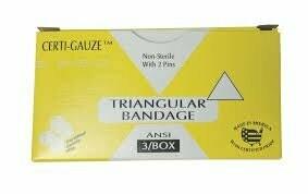 Triangular Bandage 3/Box 211-033  # 636