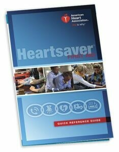 2015 Heartsaver® First Aid Quick Reference Guide (15-1022) AHA