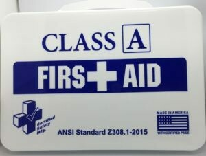 First Aid Kit - 16PW - Class A - Poly White - Certified 615-011
