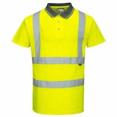 Clothing - Shirts - Hi-Vis Short Sleeve Polo (PORTWEST)