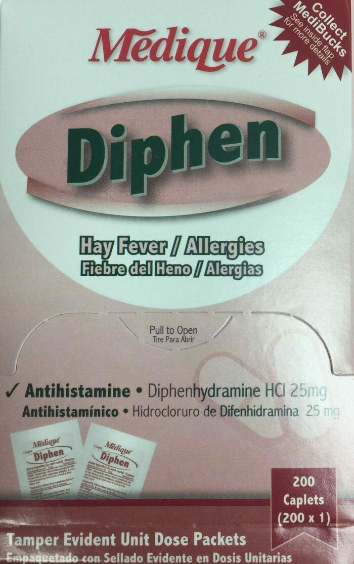 DIPHEN ANTIHISTAMINE 200/BOX 18447 515-074