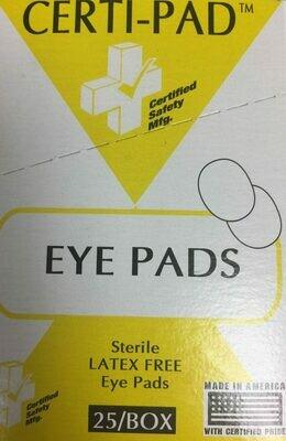 Certi-Pad Eye Pads 25/box 231-112