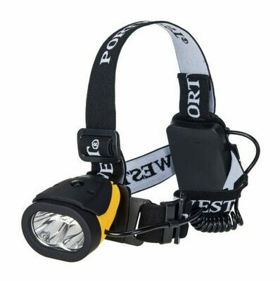 Flashlights - Portwest Dual Power Head Light