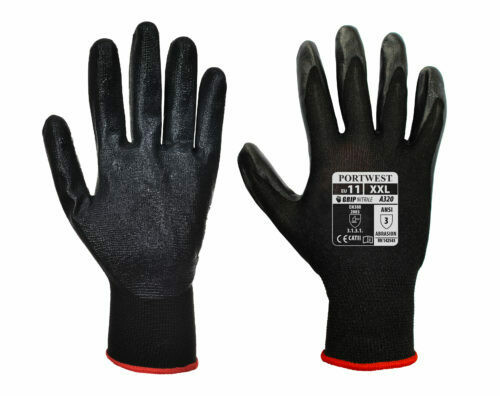 Clothing - Gloves - Dexti-Grip Glove - Nitrile Foam (PORTWEST)