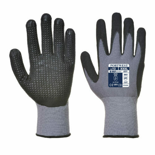 Clothing - Gloves - DermiFlex Plus Glove - PU/Nitrile Foam (PORTWEST)