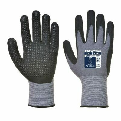 Clothing - Gloves - DermiFlex Plus Glove - PU/Nitrile Foam (PORTWEST)
