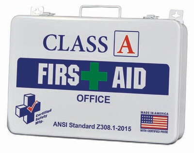 Class A Office 36 First Aid Kit - K616-006 Poly White