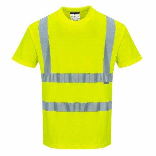 Clothing - Shirts - Cotton Comfort Short Sleeved T-Shirt (PORTWEST)